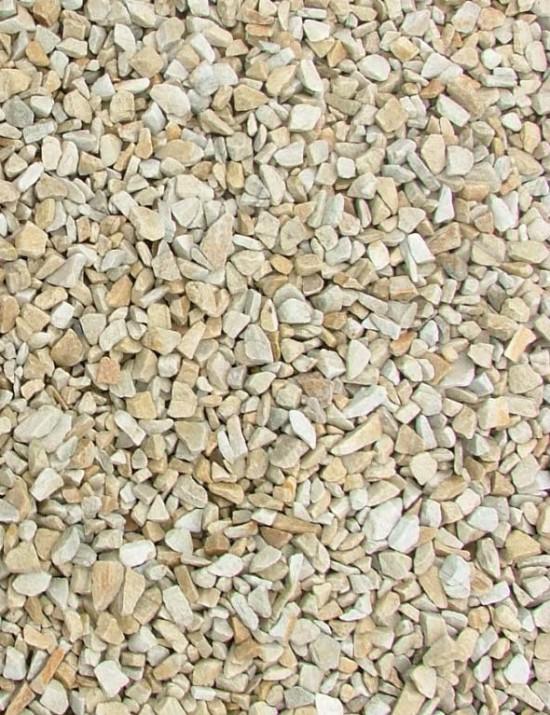 Gold Quartzite Chippings 10mm