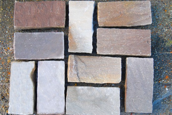 Sandstone Setts Brown