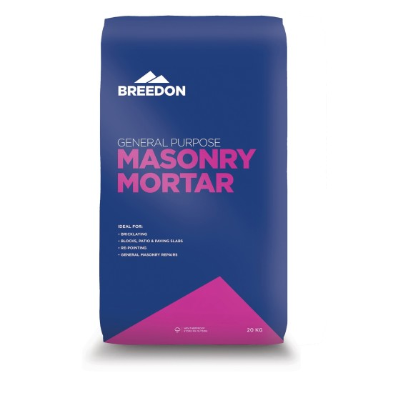 Breedon General Purpose Mortar In A Waterproof Bag