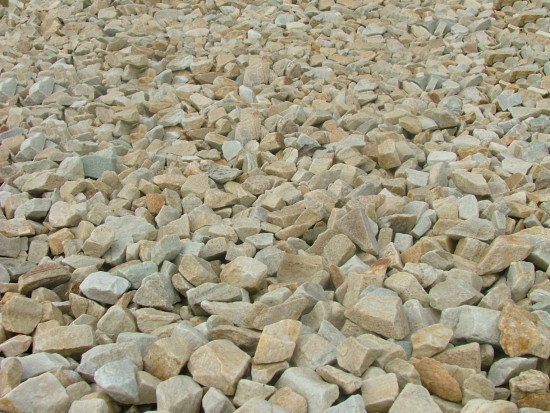 Gold Quartzite Chippings 20mm