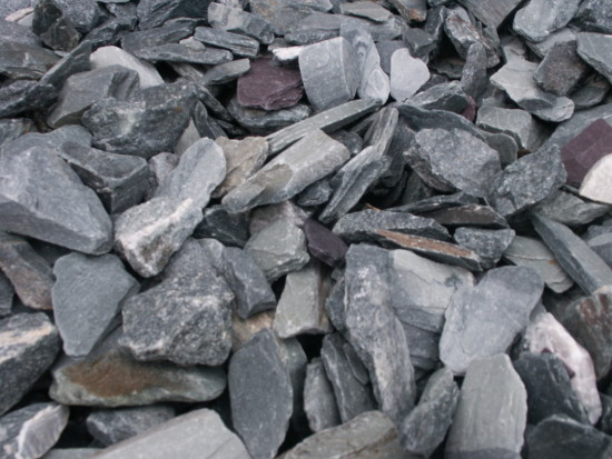 Black Slate Chippings