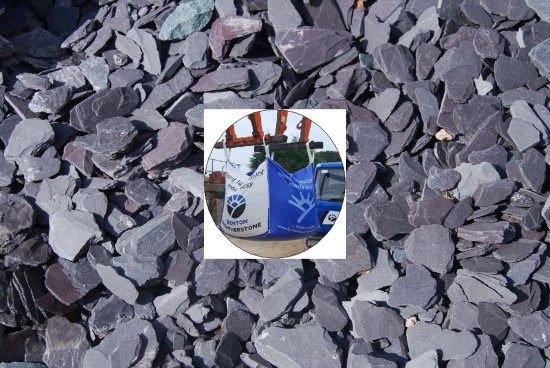 Blue Slate Chippings 40mm - Manager's Special
