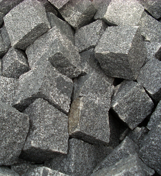 Granite Setts Blue Black