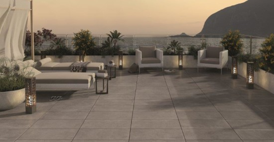 Titanio Italian Porcelain Outdoor Paving 600 x 600mm