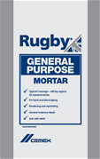 Rugby General Purpose Mortar In A Waterproof Bag