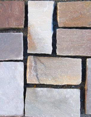Sandstone Setts Brown