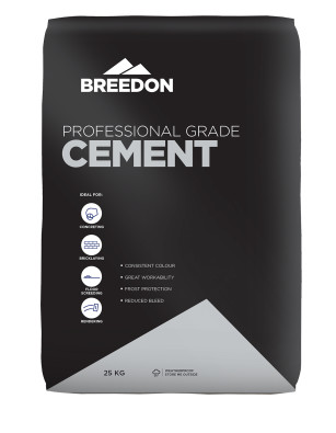 Breedon Professional Cement In A Waterproof Bag
