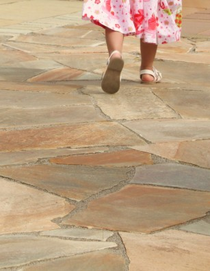 Quartzite Gold Crazy Paving