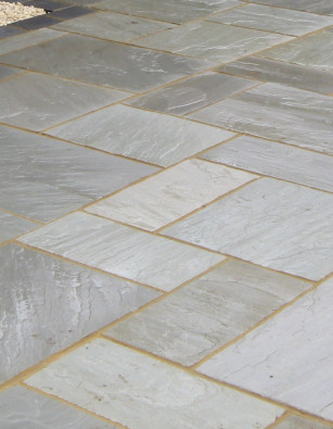 Argento Imported Sandstone Paving 22mm Calibrated