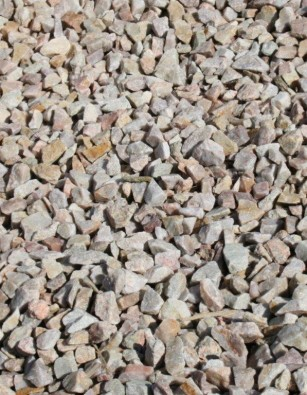 Rose Qartzite Chippings