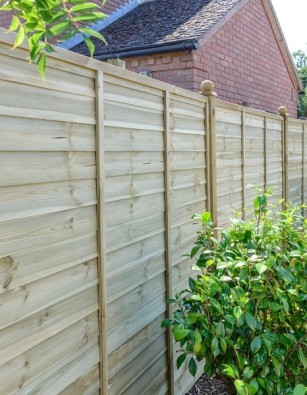 Ultimate Green Lap panel Fencing