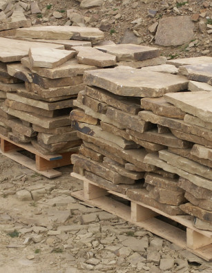 Yorkstone New Crazy Paving Full Pallet