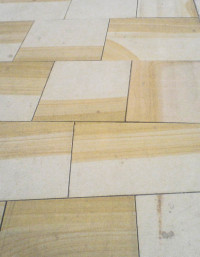 Smooth Sawn Yorkstone Paving