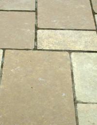 Giallo Imported Limestone Paving
