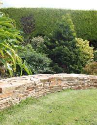 Quartzite Garden Walling