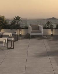 Titanio Italian Porcelain Outdoor Paving 600 x 600mm
