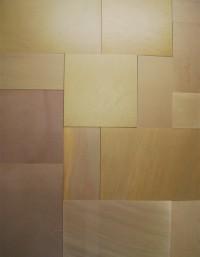 Raj Green Sandblasted Sandstone